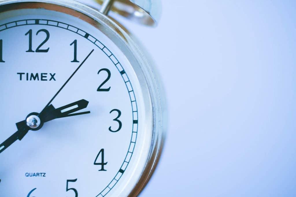 ρολόι που μετράει αντίστροφα